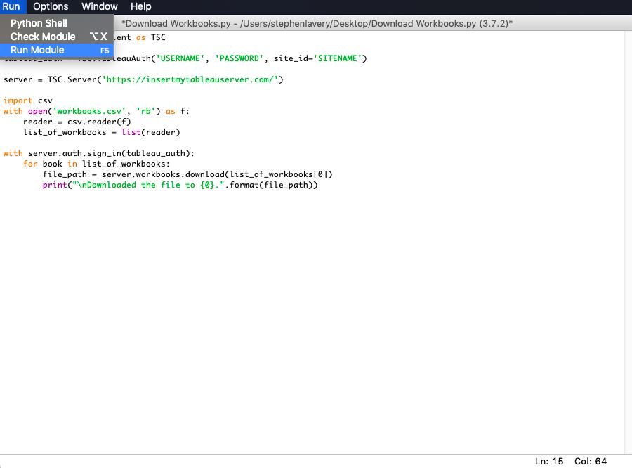 Csv Reader Python